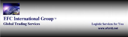 Global Trading, Logistic Service. EFC International Group